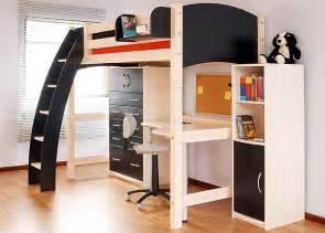 French Style Armoire Lit Mezzanine Avec Bureau Int 233 Gr 233 29 Id 233 Es Pratiques