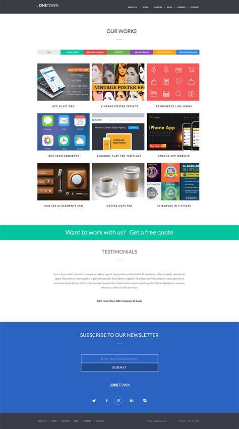 free responsive website templates 2014 free responsive website psd templates