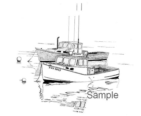 fishing boat drawing best 25 boat drawing ideas on pinterest boat drawing
