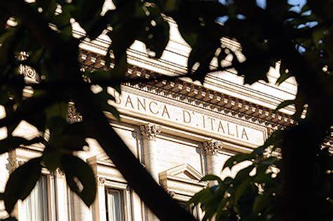 sofferenze banche italiane banca d italia sofferenze ancorate ai minimi a settembre