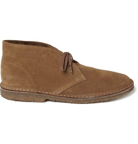 j crew boots mens j crew macalister suede desert boots in beige for