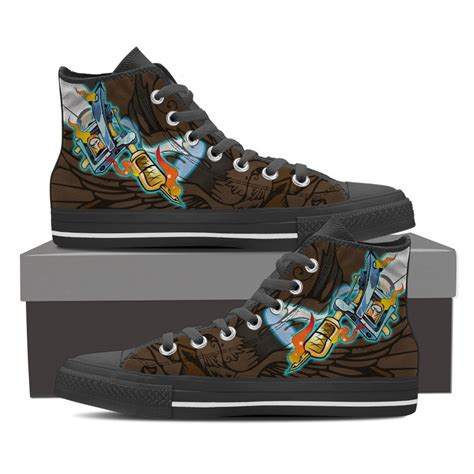 tattoo shoes gun shoes groove bags