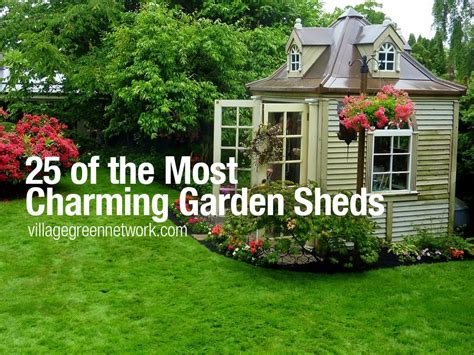 Charming Garden Sheds by 25 Of The Most Charming Garden Sheds