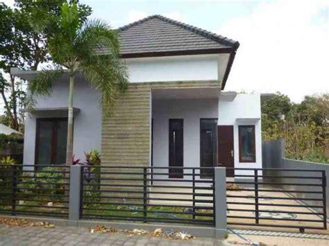 contoh desain depan rumah model desain rumah minimalis type 36 1 lantai dan 2 lantai