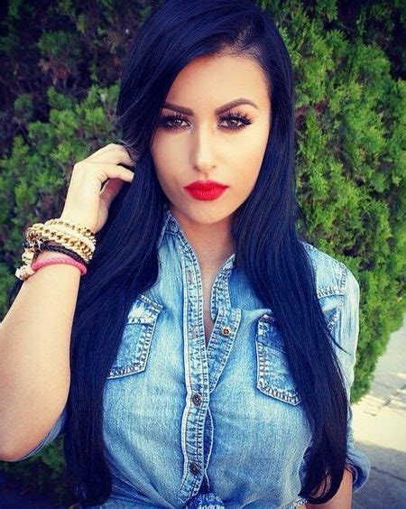black hairstyles color cool blue black hair color best hair color trends 2017