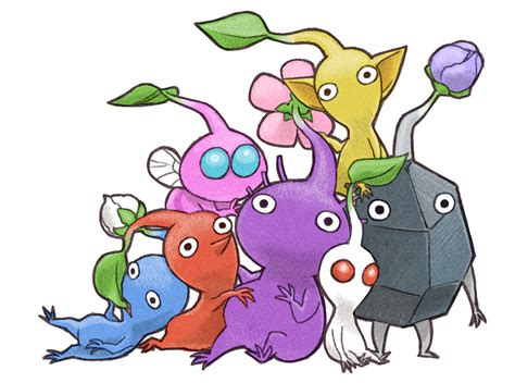 pikmin by wishfield on deviantart