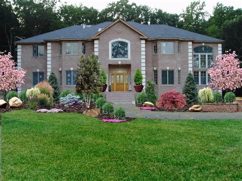 Landscaper Nj Low Maintenance Front Yard Landscaping New Jersey