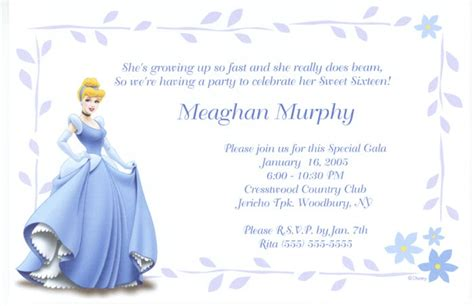 cinderella invitation to the template cinderella invitations kid 2 birthday ideas