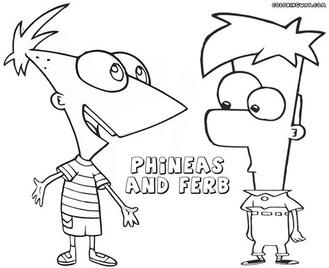 Phineas And Ferb Coloring Pages Coloring Pages To Download And Print Phineas And Ferb Colouring Pages