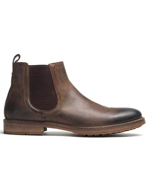 Detox Boot C Uk by S Chelsea Boot In Chocolate From Crew Clothing