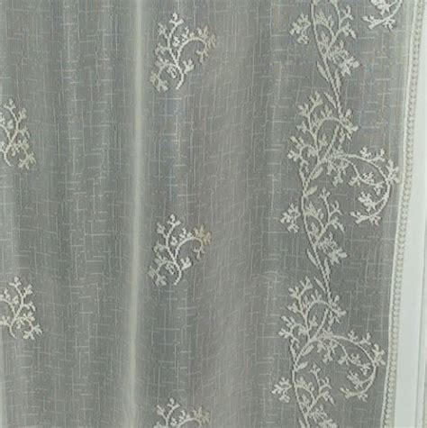 lace curtain store sheer divine valance heritage lace 8220e 6016 8220x