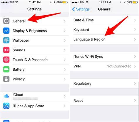 como mudar layout do iphone como mudar o idioma do iphone 6 e 6s para portugu 234 s