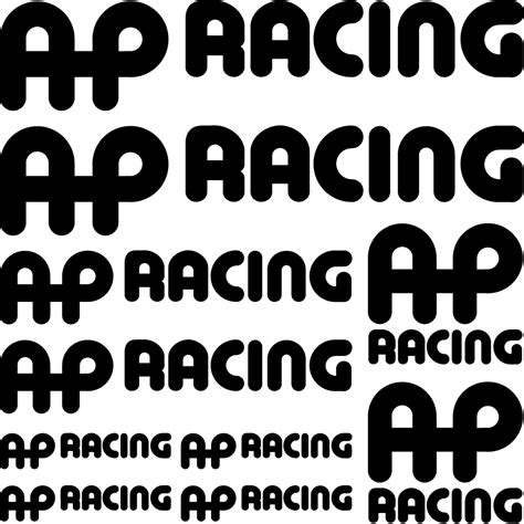 Racing Sticker Kit by Wallstickers Folies Ap Racing Decal Stickers Kit