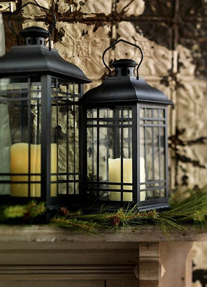 Set of 3 Rubbed Oil Bronze Candle Lanterns   14   17   20 Inch