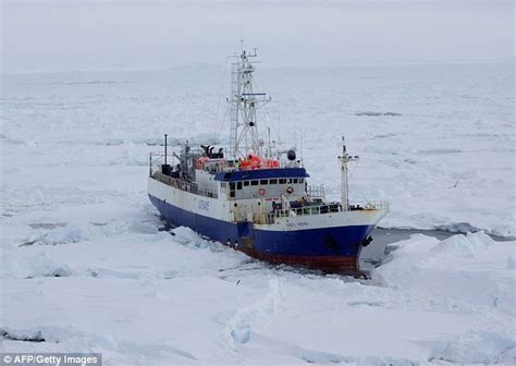 sinking boat icebreaker us coast guard rescues and tows australian ship caught in