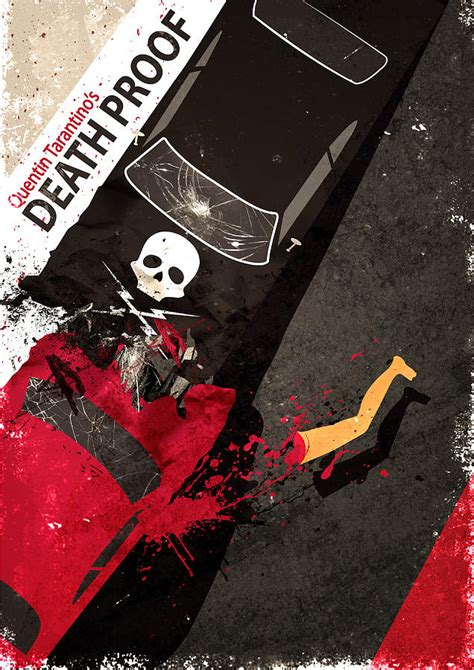 quentin tarantino film studio death proof quentin tarantino movie poster digital art by