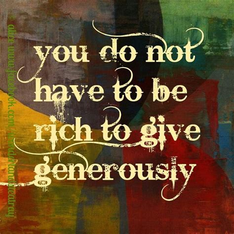 and generosity quotes about giving and generosity quotesgram