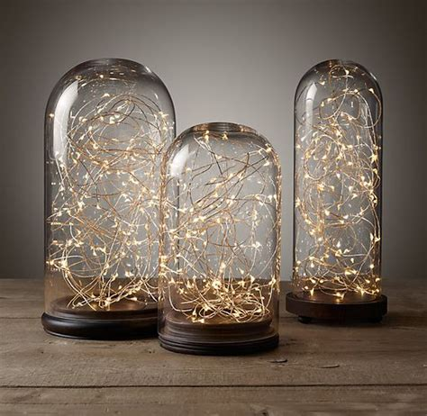 Restoration Hardware Holiday Gifts Wish List Jars String Lights Restoration Hardware
