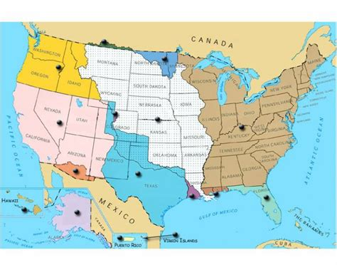 map us land acquisitions u s territorial acquisitions