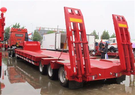 low bed trailer titan excavator trailer extendable low bed trailer low bed