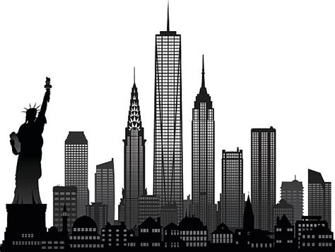 new york clip new york clipart new york buildings clipart pencil and