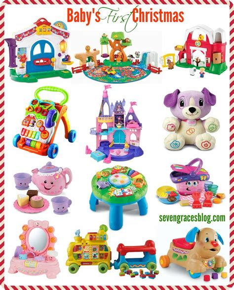 best gifts for baby s first christmas girly toy and boys