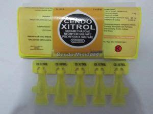 kelebihan obat mata cendo xitrol untuk mengobati iritasi