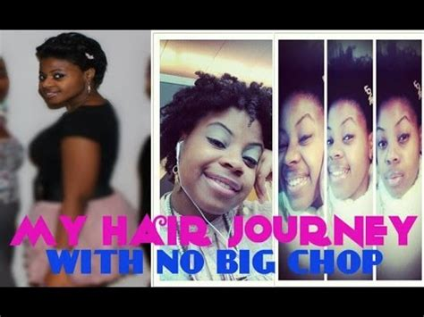 my natural hair journey without the big chop youtube my natural hair journey without a big chop youtube