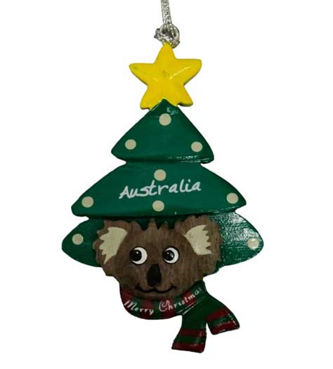 australian christmas decorations wholesale koala tree ornament australia the gift australian souvenirs gifts