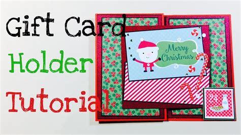 carding tutorial german diy gift card holder tutorial deutsch