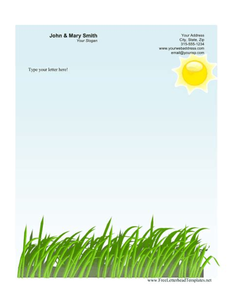 agriculture business letterhead