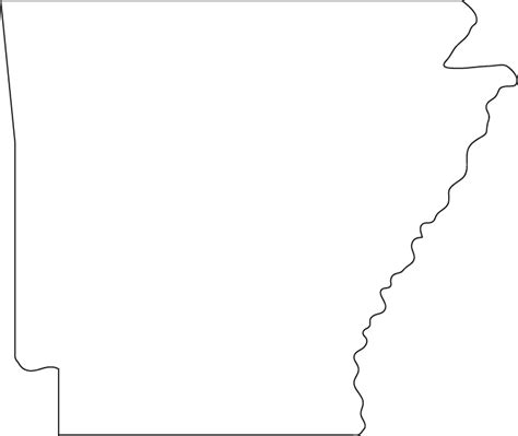 Search Arkansas State Of Arkansas Clipart
