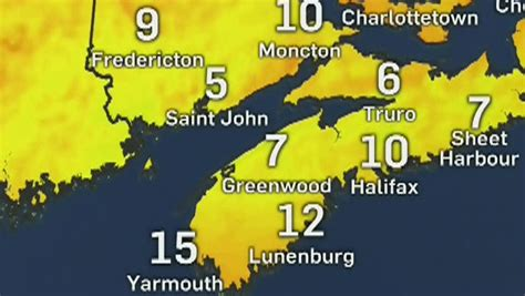 14 Day Weather Forecast Kitchener Ontario Canada by Ctv Atlantic Day S Forecast For July 14 Ctv
