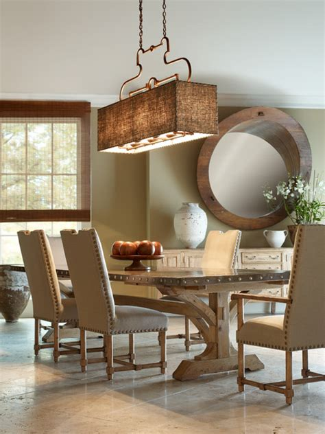Country Dining Room Light Fixtures by Chaddock Country Dining Room