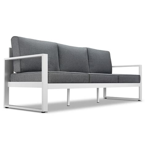 grey outdoor sofa grey outdoor sofa incredible grey wicker sectional patio