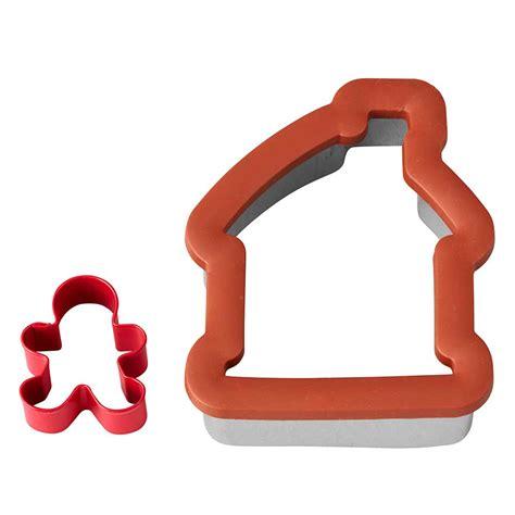 comfort grip cookie cutters comfort grip gingerbread house cookie cutter set 2310