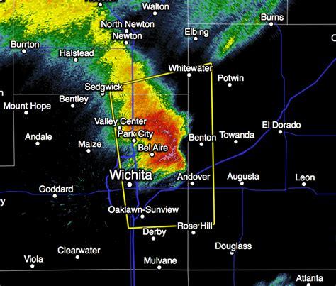 mike radar mike smith enterprises hail in east wichita