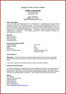 Cv Student Template by Fast Help Cv Sle Recent Graduate
