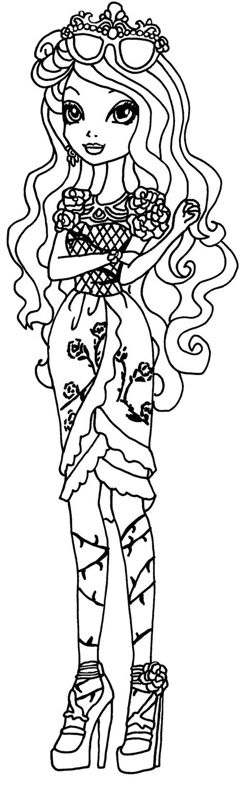 coloring pages ever after high raven queen ever after high coloring pages raven queen briar beautyby