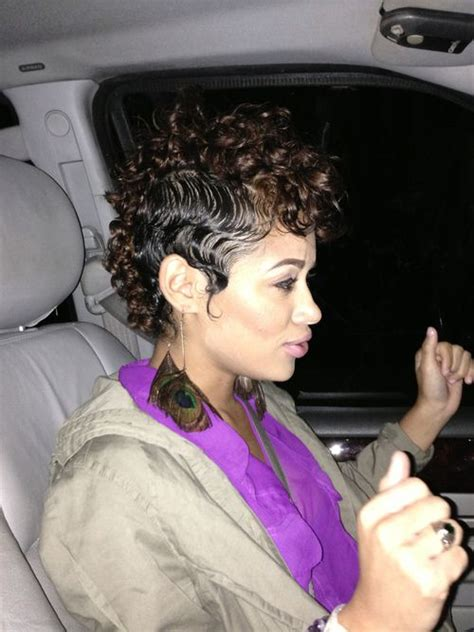 short cuts for natural mixed hair 17 best images about curly mohawk on pinterest red