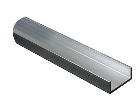 List Alumunium U aluminium u profile h 10mm w 13mm l 2m departments