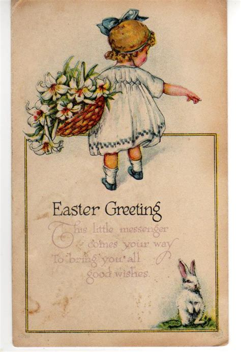 cards antique view from the birdhouse a few antique easter cards