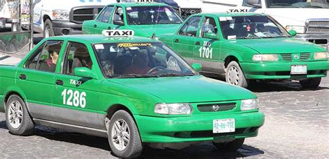 imagenes taxis verdes instrumentan si toma toma taxi para impedir accidentes