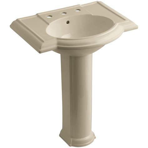 bathroom sink combo kohler devonshire vitreous china pedestal combo bathroom