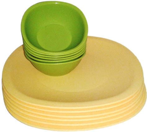 Tupperware Kitchen Set Price In India by Tupperware Tupperware India Pvt Ltd Pack Of 12 Dinner Set