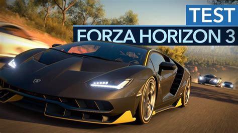 forza horizon 3 werkstatt forza horizon 3 test zum besten rennspiel des