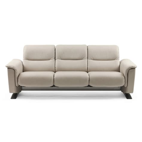 stressless sofa sale panorama three seat low back sofa by stressless