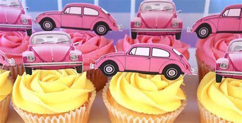 Kara's Party Ideas 60's VW Love Bug Birthday Party   Kara