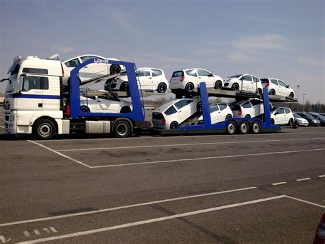 maquette camion porte voiture