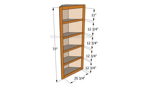 how to build a corner how to build corner shelves howtospecialist how to